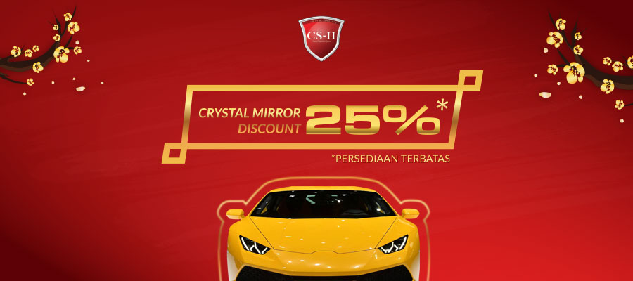 CS-II Paint Protection Crystal Mirror Discount 20%