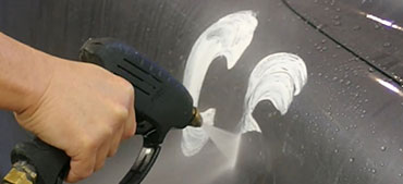 CS-II Paint Protection Fitur 2 Graffiti Testing