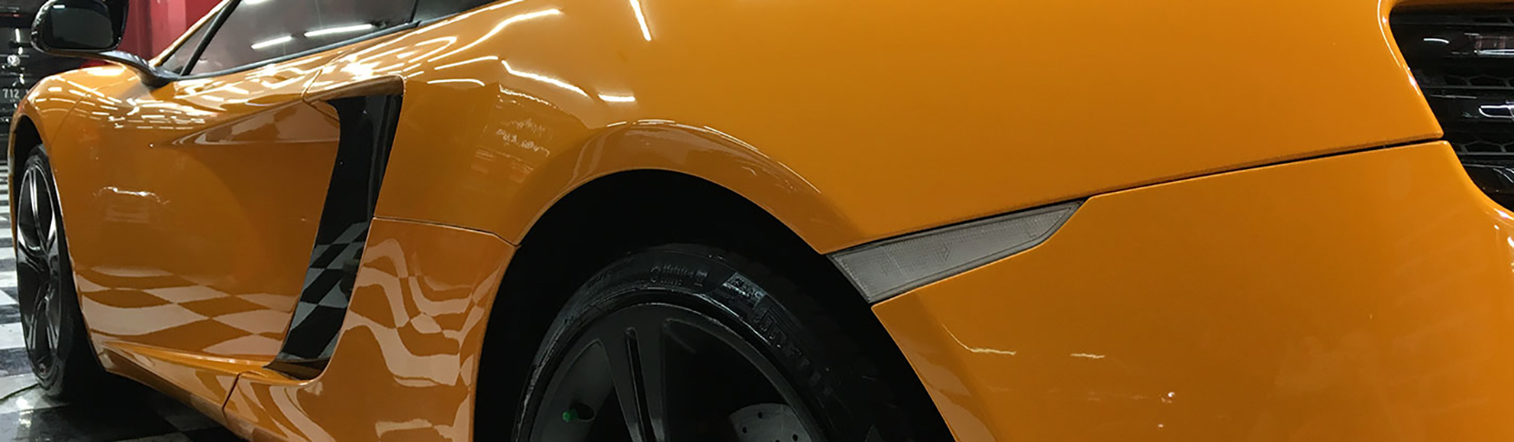 CS-II Paint Protection Yellow Mc Laren Glossy