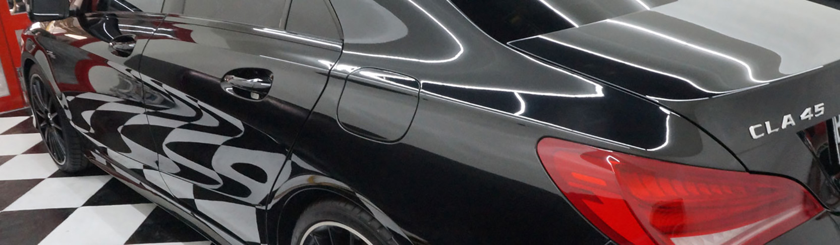 CS-II Paint Protection Swirl Mark on Car Body
