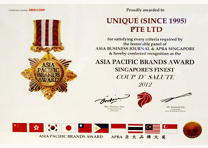 CS-II Paint Protection Indonesia Asia Pasific Brand Award