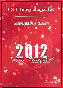 CS-II Paint Protection Indonesia San Gabriel Awards International 2012