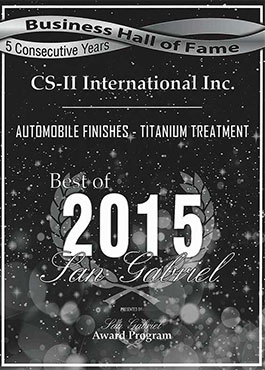 CS-II Paint Protection Indonesia San Gabriel Awards International 2015