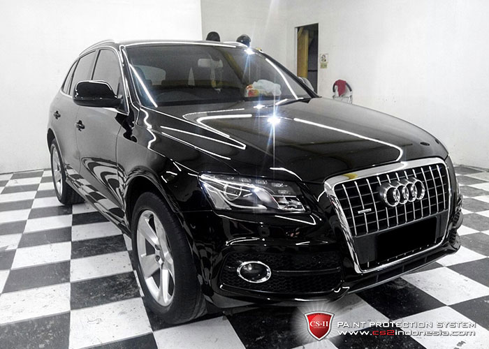 CS-II Paint Protection Indonesia Black Audi Q7 2016 Glossy