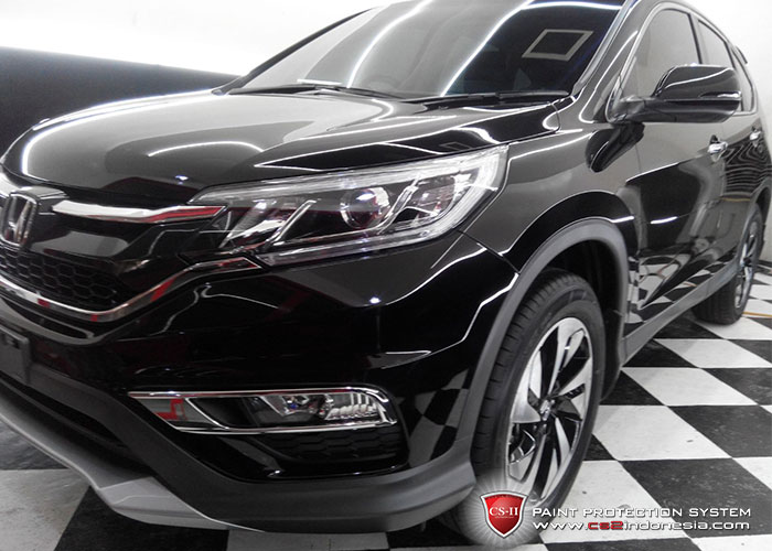 CS-II Paint Protection Indonesia Black Honda BRV 2016 Glossy