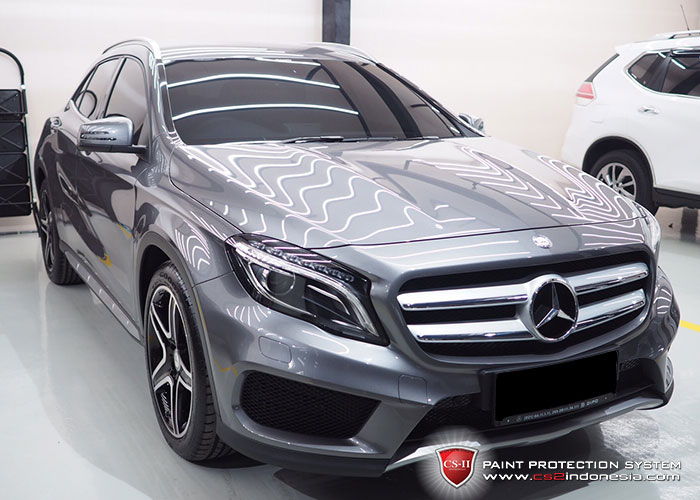 CS-II Paint Protection Indonesia Mercedes Benz GI A200 Glossy