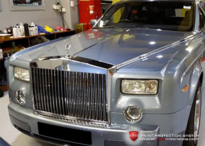 CS-II Paint Protection Indonesia MeRoll Royce Glossy