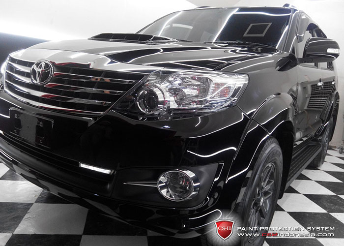 CS-II Paint Protection Indonesia Black Toyota Rush 2016 Glossy