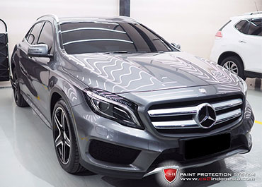 CS-II Paint Protection Indonesia Mercedes Benz GI A200Glossy