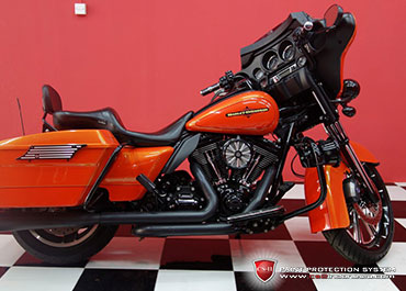 CS-II Paint Protection Indonesia Harley Davidson Street Glide Glossy