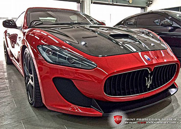 CS-II Paint Protection Indonesia Maserati Glossy