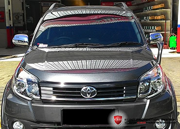 CS-II Paint Protection Indonesia Toyota Rush Glossy