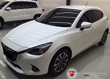 CS-II Paint Protection Indonesia White Mazda Glossy